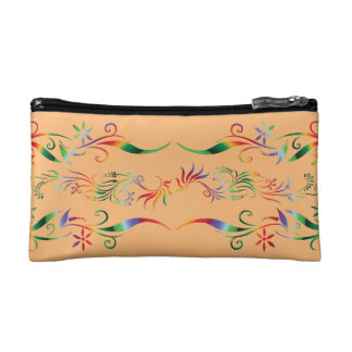 Floral Design Makeup Bag