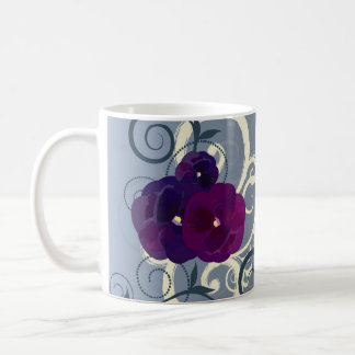 Floral Design Mugs