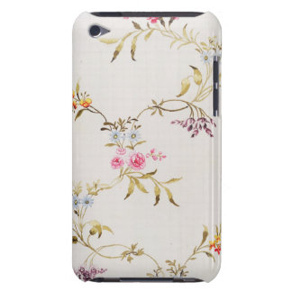 Floral design of carnations and roses for a silk m iPod touch cover