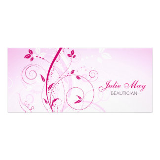 Floral Design Rack Card