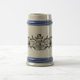Floral Design Stein Beer Steins