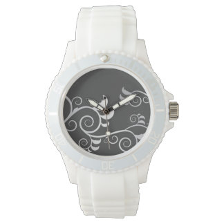 Floral Design Watch