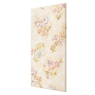 Floral design with peonies, lilies and roses for S Stretched Canvas Prints