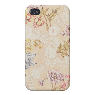 Floral design with peonies, lilies and roses for S Cover For iPhone 4