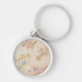 Floral design with peonies, lilies and roses for S Key Ring