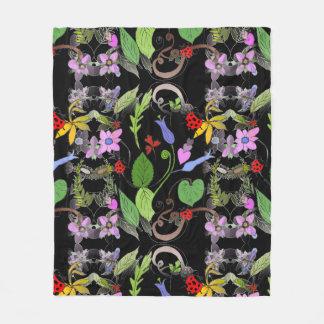 Floral Designed Blanket