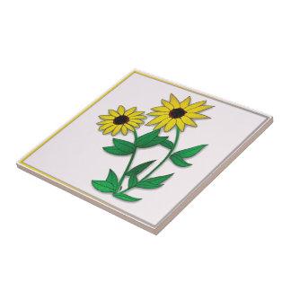 Floral Designed Tile
