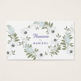 Floral Designer Florist Business Card Template