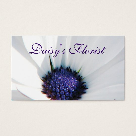 Floral Designer's Business Card