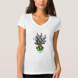 Floral Desings Tee Shirts