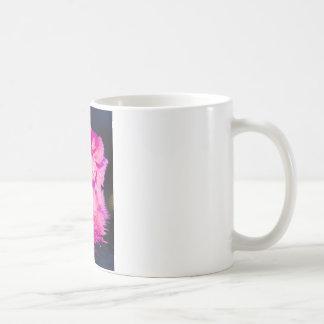 Floral digital art pinks mugs