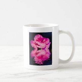 Floral digital art pinks coffee mugs