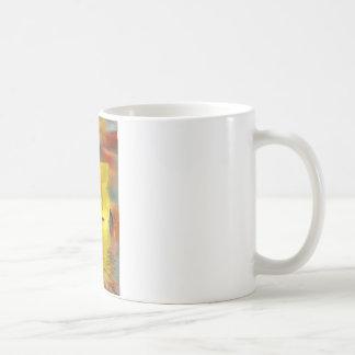 Floral digital art reflections coffee mugs