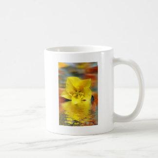 Floral digital art reflections mug