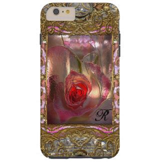 Floral Discretion 6/6s Monogram Plus Tough iPhone 6 Plus Case