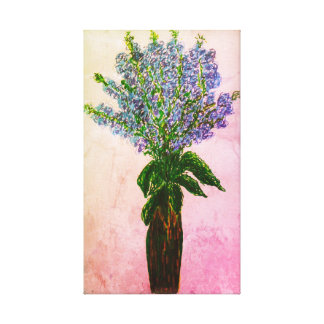 Floral Display Canvas Print