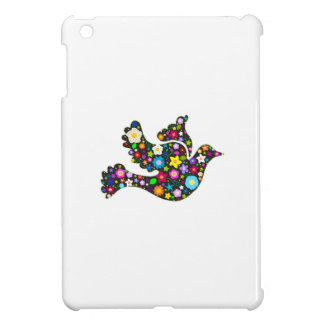 Floral Dove of flowers Case For The iPad Mini