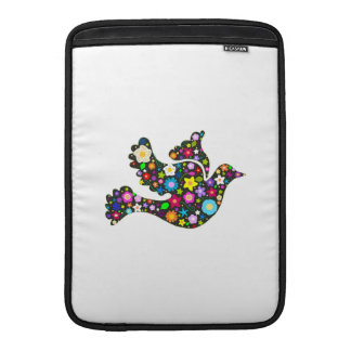 Floral Dove of flowers Sleeve For MacBook Air