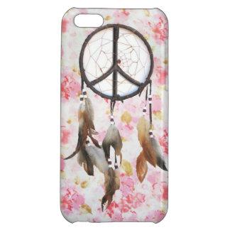 Floral Dream Catcher iPhone 5C Cases