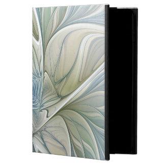 Floral Dream Pattern Abstract Blue Khaki Fractal Powis iPad Air 2 Case
