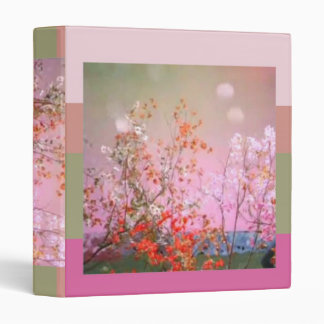 Floral Dreams Vinyl Binder