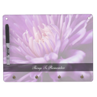 Floral Dry Erase Message Boards