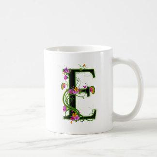 Floral E Mugs
