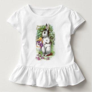 Floral Easter Bunny Toddler T-Shirt
