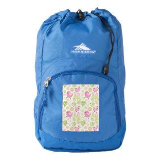 Floral Easter Chicks Backpack