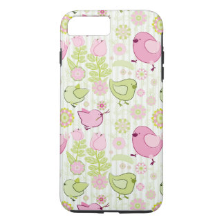 Floral Easter Chicks iPhone 7 Plus Case