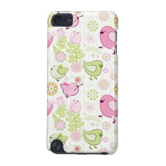 Floral Easter Chicks iPod Touch 5G Cases