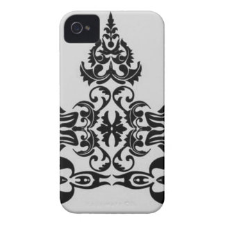 Floral elements iPhone 4 Case-Mate cases