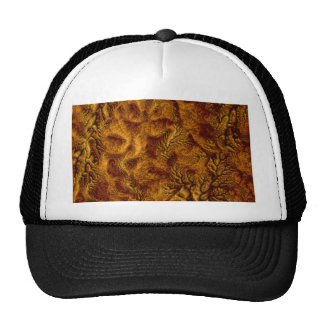 floral fantasy 07 golden trucker hat
