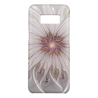 Floral Fantasy, Abstract Modern Pastel Flower Case-Mate Samsung Galaxy S8 Case