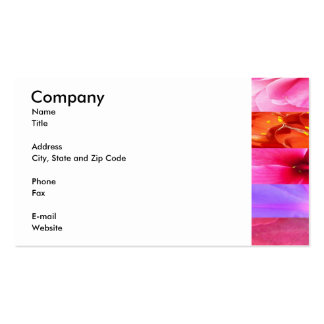Floral Fantasy Double-Sided Standard Business Cards (Pack Of 100)