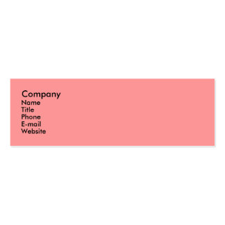 Floral Fantasy Double-Sided Mini Business Cards (Pack Of 20)