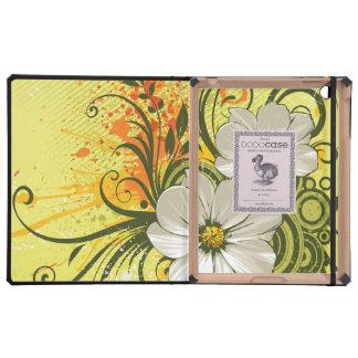Floral Fashion 9 DODO iPad Folio Cases Case For iPad
