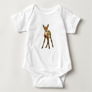 Floral Fawn Apparel Baby Bodysuit