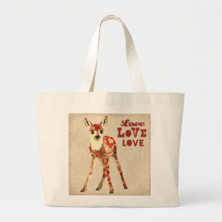 Floral Fawn Love Bag