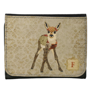 Floral Fawn Wallet