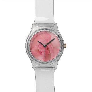 Floral Feminine Pink Rose Watch