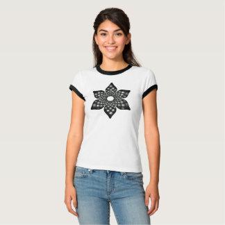 Floral Fibonacci Mandala t-shirt
