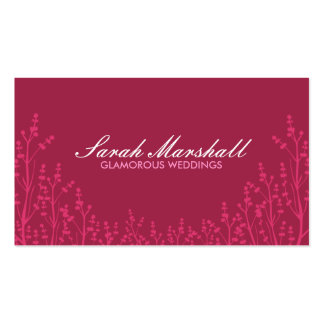 Floral Field Business card