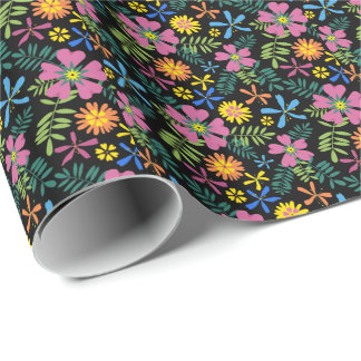 Floral Fiesta Wrapping Paper