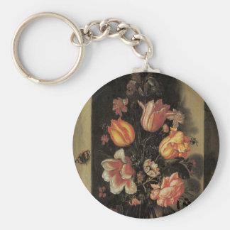 Floral Fine Art Keychain