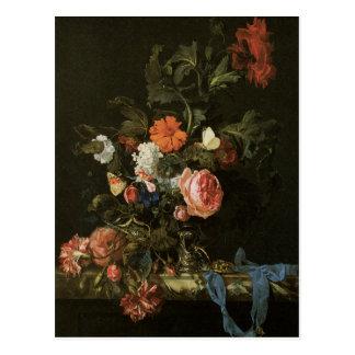 Floral Fine Art Postcard