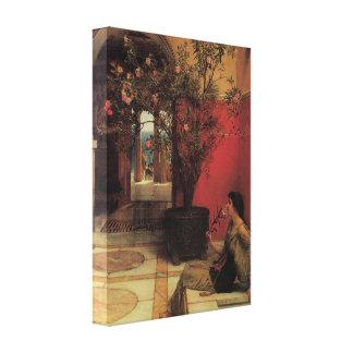 Floral Fine Art with Oleander Canvas Wrap Canvas Print
