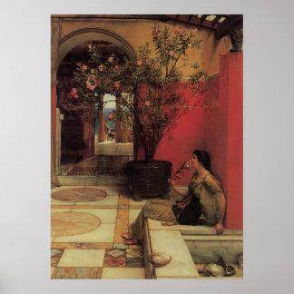 Floral Fine Art with Oleander Poster