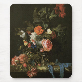 Floral Fine Art with Roses Mouse Mat