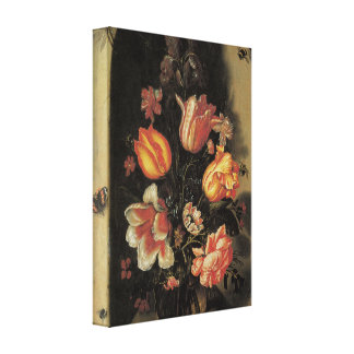 Floral Fine Art with Tulips Canvas Wrap Canvas Print